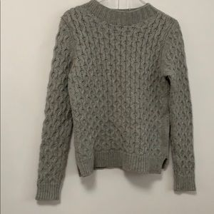 NEIMAN MARCUS CABLE KNIT SWEATER Size M